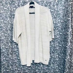Tommy Hilfiger open front cardigan